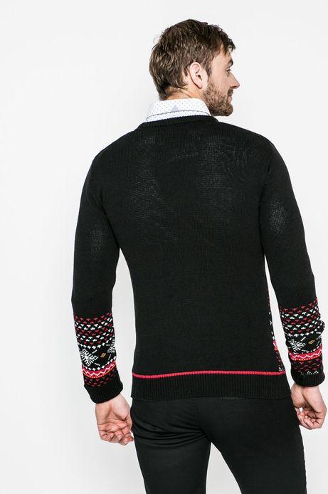 Sweter męski Xmas czarny