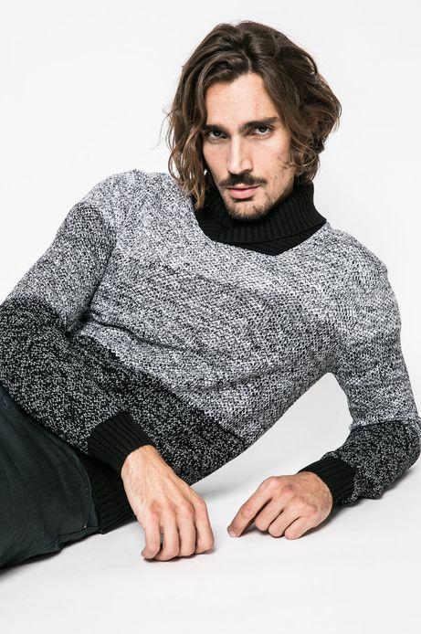 Man's Sweter męski Lord and Master czarny