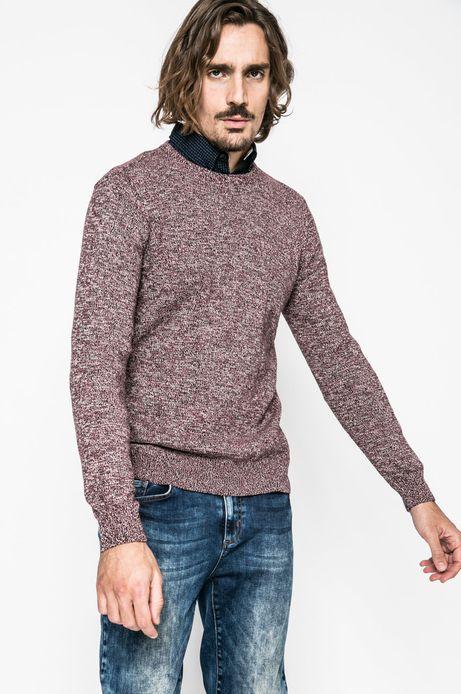 Man's Sweter męski Nocturnal kasztanowy