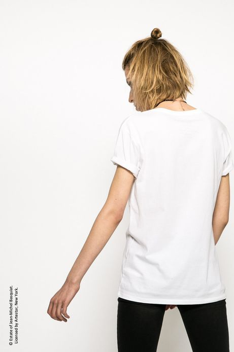 Top Jean-Michel Basquiat biały