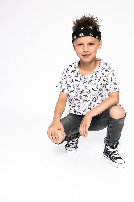 Top dziecięcy Tattoo Konwent biały
