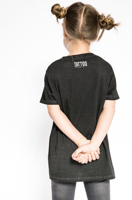 Top dziecięcy Tattoo Konwent szary