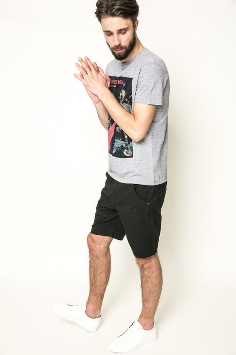 T-shirt Mr. Robot szary