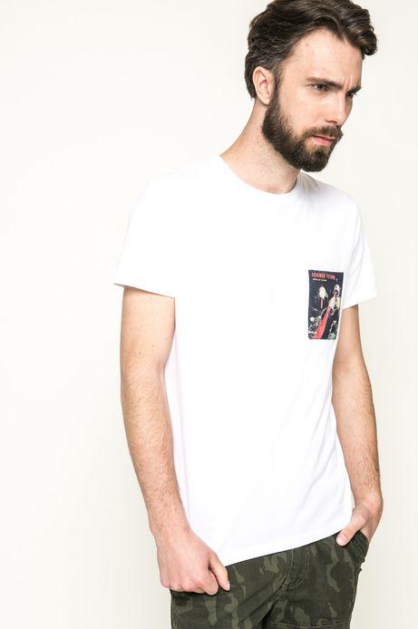 T-shirt Mr. Robot biały