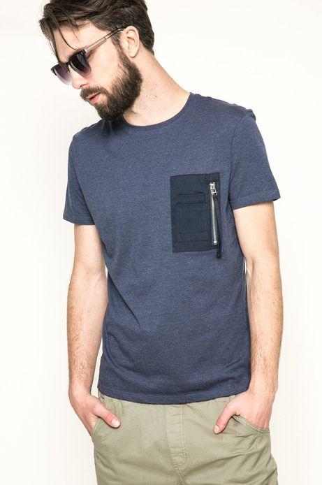 T-shirt 1_Mr. Robot granatowy