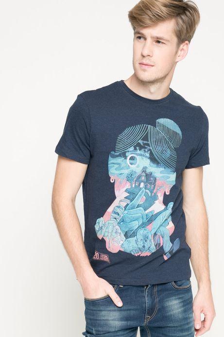 T-shirt by Patryk Hardziej granatowy