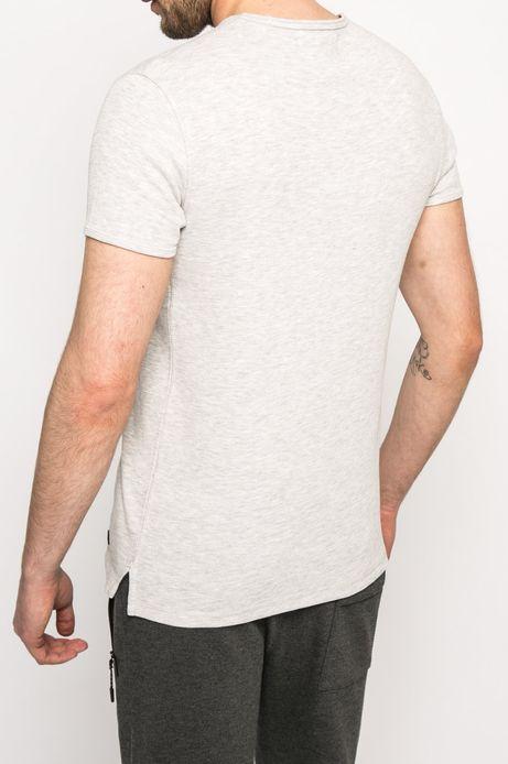 T-shirt Team Player szary