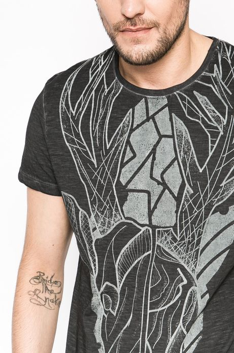 T-shirt Tattoo Konwent szary