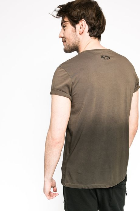 T-shirt Tattoo konwent brązowy