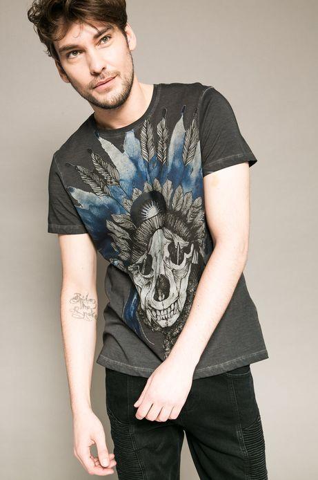 T-shirt Tattoo Konwent szary