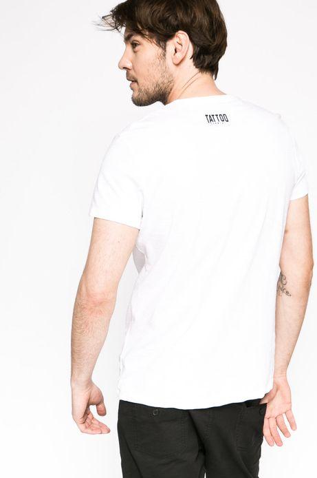T-shirt Tattoo Konwent biały