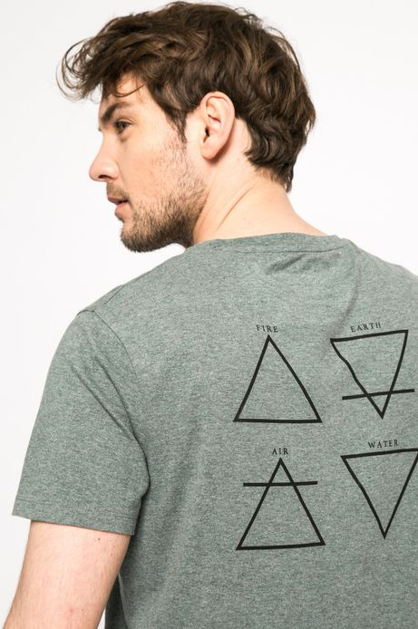 T-shirt Team Player niebieski