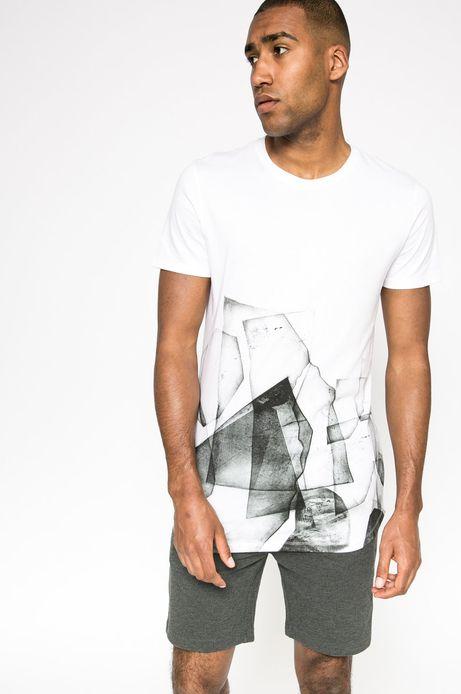 T-shirt Team Player biały