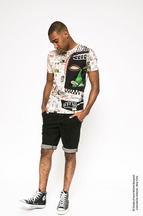 T-shirt Jean-Michel Basquiat multicolor