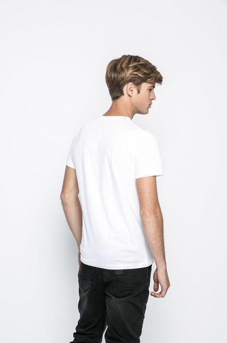 T-shirt Shades Of Darkness biały