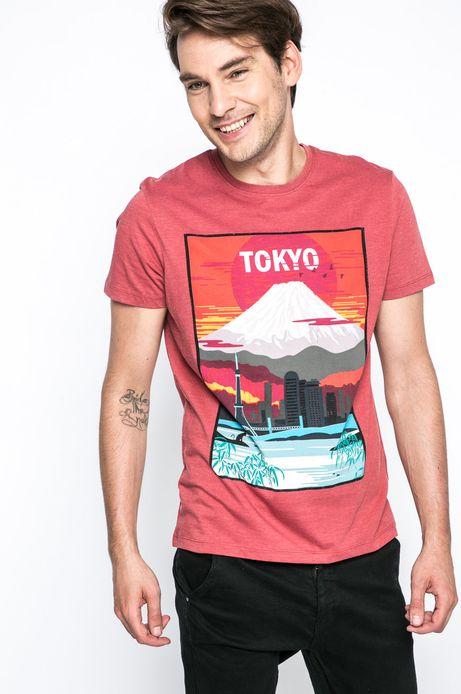 T-shirt Urban Utility czerwony
