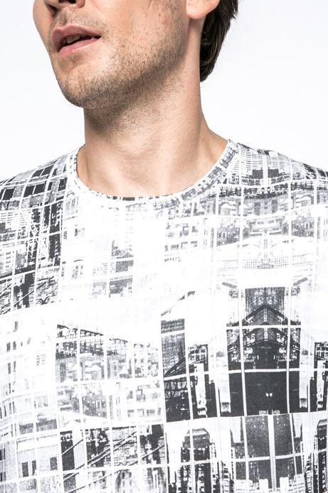 T-shirt Urban Utility szary