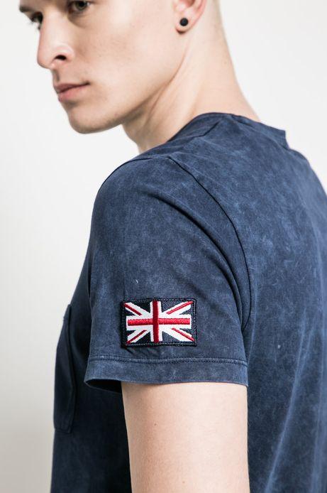 T-shirt Air Force granatowy