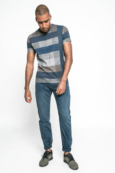 Man's T-shirt Urban Utility multicolor