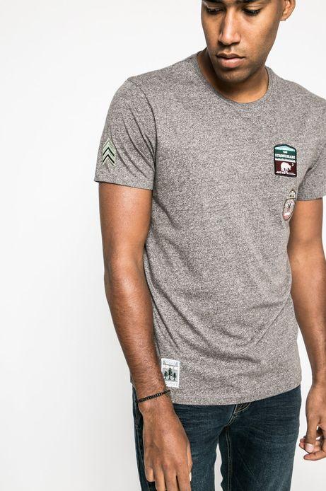 T-shirt Academic Scout szary