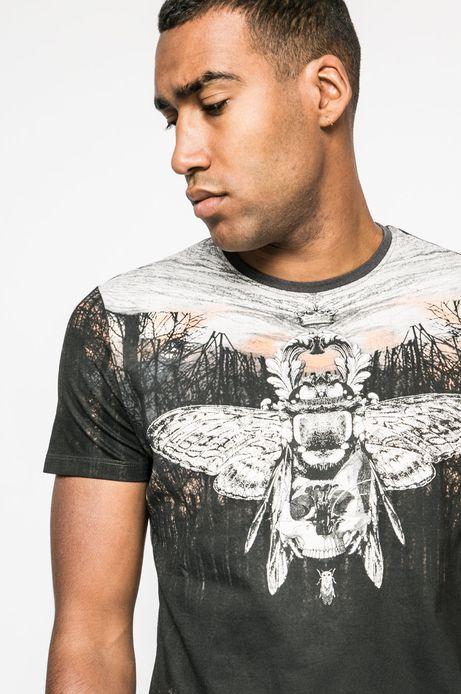 T-shirt Nocturnal Creatures szary