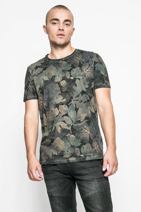 T-shirt męski Human Nature zielony