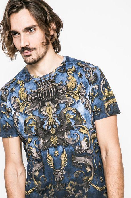 T-shirt męski Lord and Master multicolor