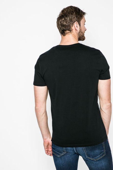 T-shirt męski Invicible Warriors czarny