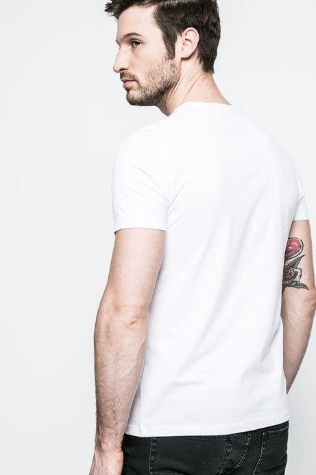 T-shirt męski Grand Hotel Budapest biały