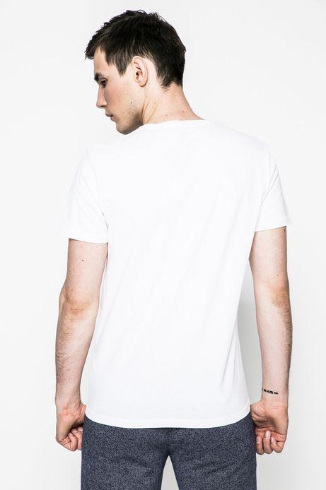 T-shirt Grand Hotel Budapest biały
