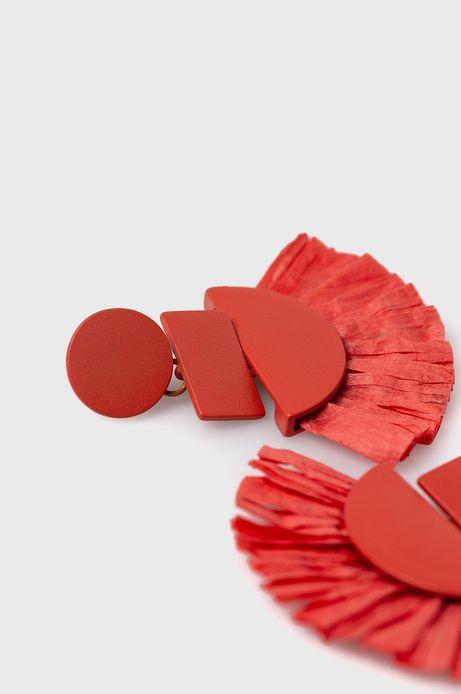 Kolczyki damskie czerwone