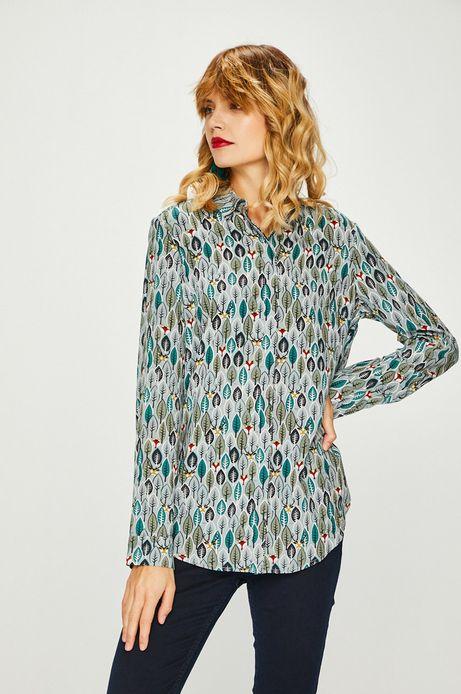 Koszula damska wzorzysta