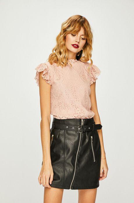 Koszula damska różowa koronkowa