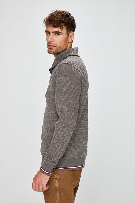 Bluza męska szara kieszeniami