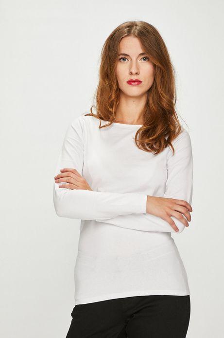 Bluzka damska biała gładka