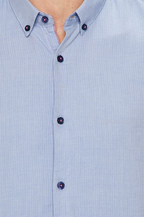 Koszula męska slim fit niebieska