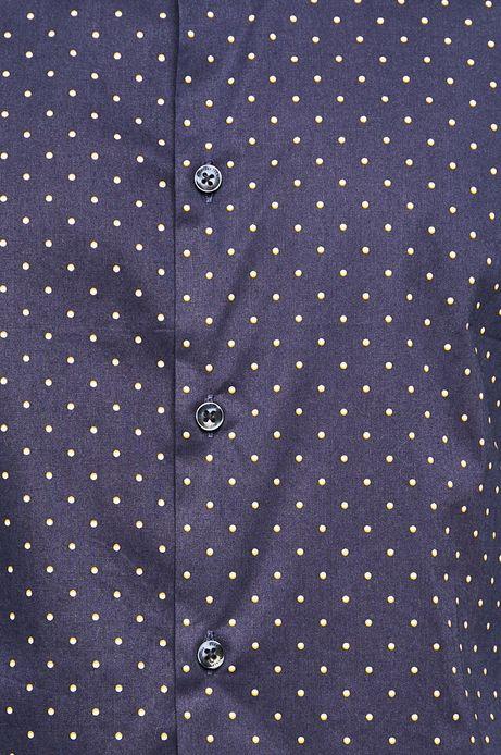 Koszula męska slim fit granatowa