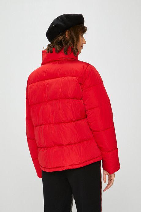 Kurtka damska czerwona pikowana ocieplana