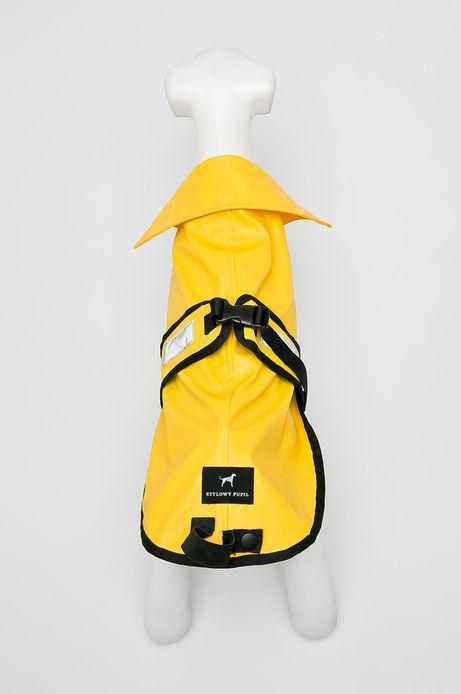 Przeciwdeszczowa kurtka dla pupila żółta