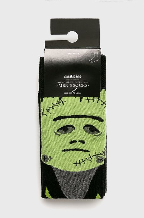Skarpety męskie Halloween (2-pack)