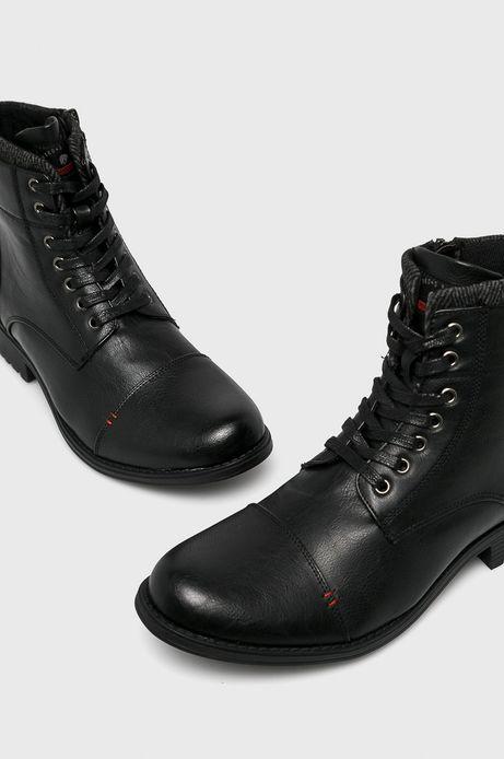 Buty męskie czarne