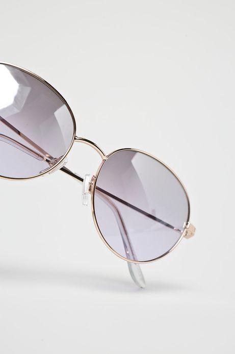 Okulary damskie z okrągłymi oprawkami