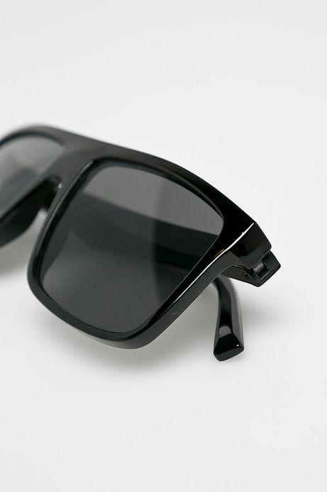 Okulary męskie z kwadratową oprawką czarne