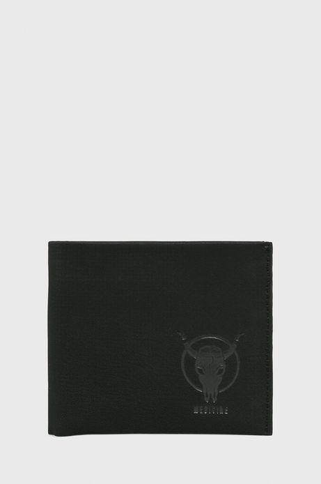 Portfel męski ze skóry ekologicznej czarny