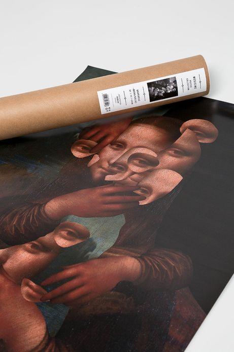 Plakat by Barrakuz Collages, Street Art 70,7x50 cm