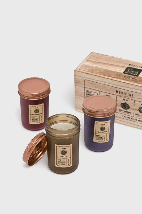Świeca zapachowa (3-pack)