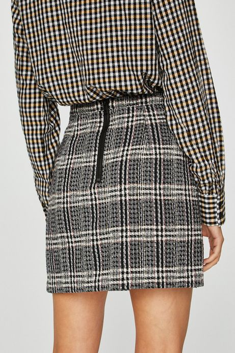 Spódnica damska czarna w kratę