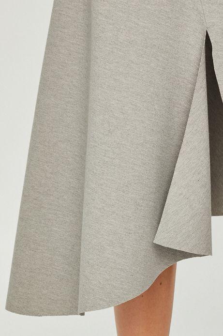 Spódnica damska szara asymetryczna