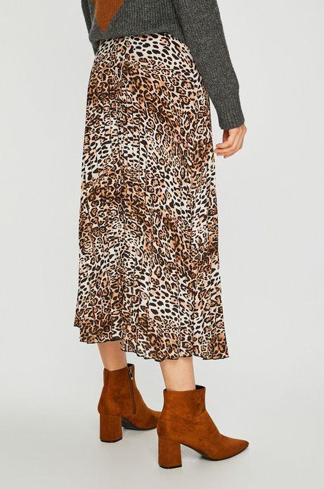 Spódnica damska rozkloszowana w panterę