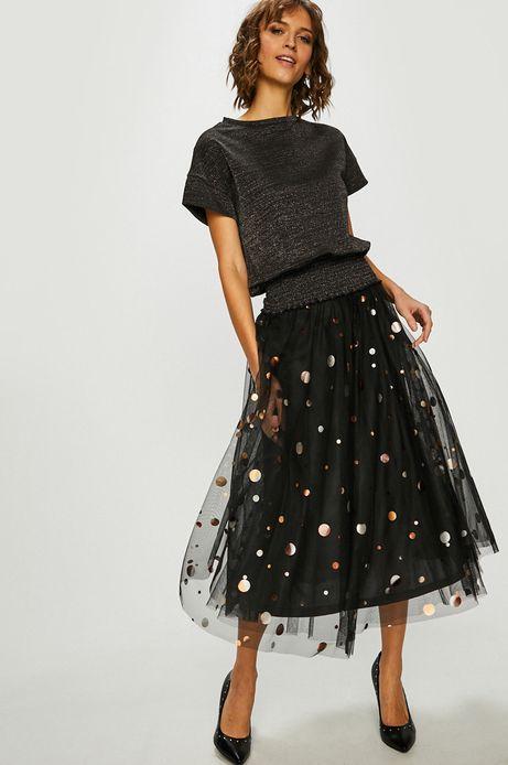 Spódnica damska rozkloszowana czarna